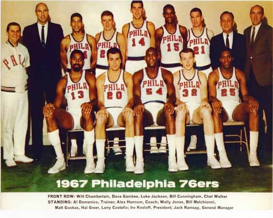Philadelphia 76ers (1966-67)