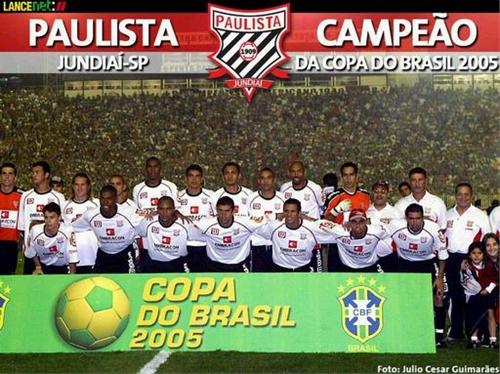 Paulista campeão da Copa do Brasil