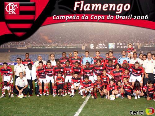Flamengo campeão da Copa do Brasil