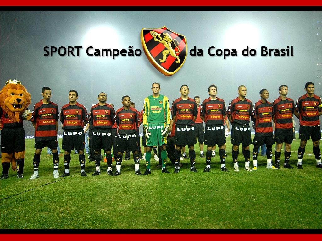 Sport campeão da Copa do Brasil